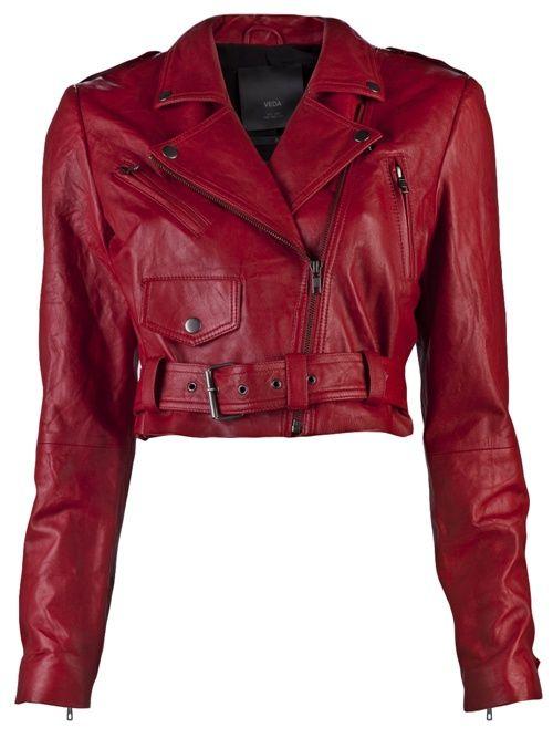 red thriller jacket