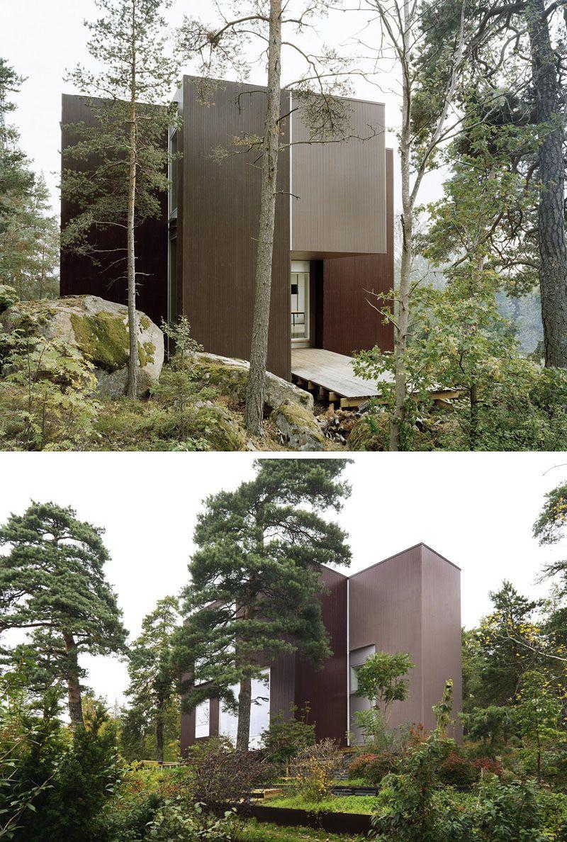 19 Examples Of Modern Scandinavian House Designs Scandinavian Modern House Modern Architecture Design Scandinavian Architecture