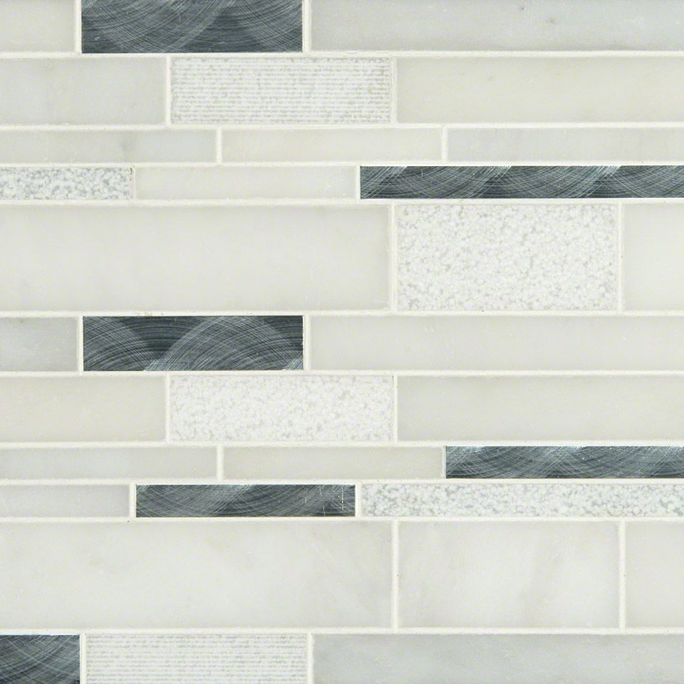 Moderno Blanco Interlocking Pattern 8mm Mosaics Wall Tiles Mosaic Wall Tiles Wall And Floor Tiles