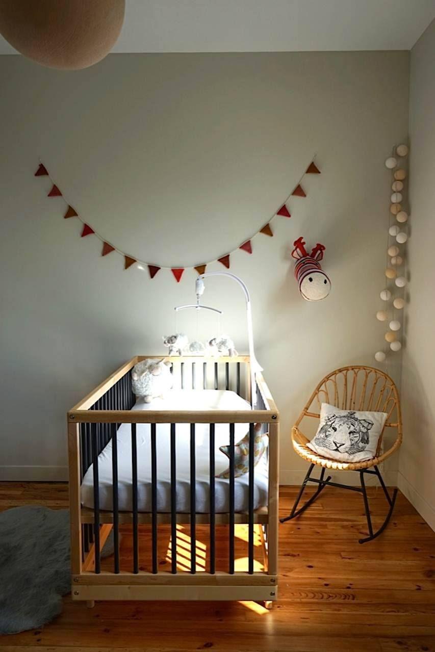 Une chambre d\'exception pour Capucine avec un lit bébé ...
