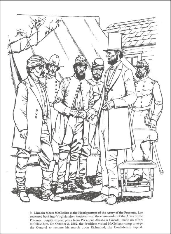 From Antietam to Gettysburg Coloring Book | Additional Photo (Inside Page)
