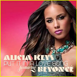 Alicia Keys: 'Put It In A Love Song' Artwork!