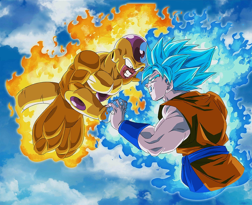 Goku Ssgss Vs Frieza Bg Db Legends By Maxiuchiha22 On Deviantart Anime Dragon Ball Dragon Ball Art Dragon Ball Goku