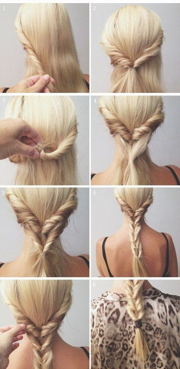 40 Easy Step By Step Hairstyles For Girls Long Hair Styles Diy Hairstyles Easy Hair Styles