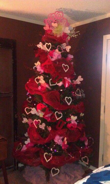 Valentine Tree Trees Pinterest Valentines Christmas And