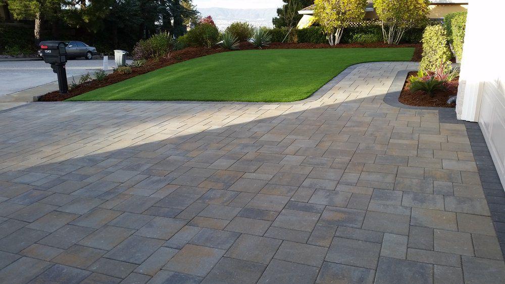 Photo Of Black Diamond Paver Stones Landscape San Mateo Ca United States Belgard Catalina Grana St Patio Pavers Design Paver Patio Outdoor Patio Designs