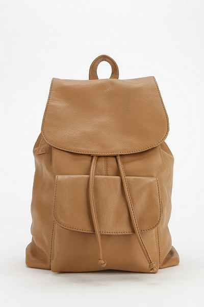 BDG Kelly Leather Backpack - Urban Outfitters