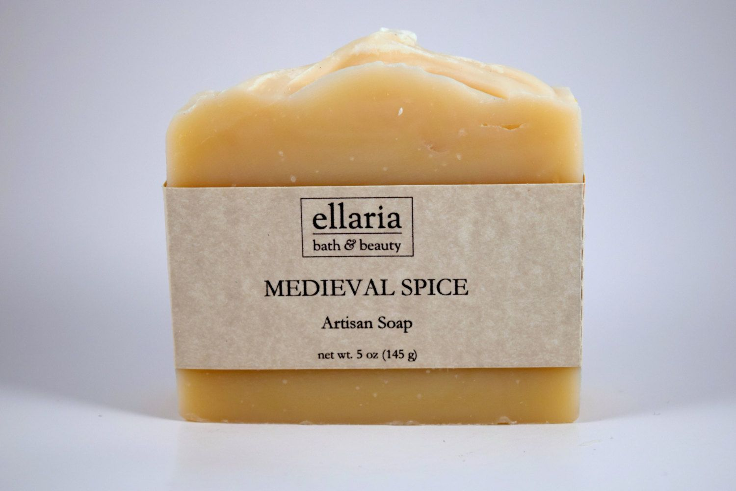 Medieval Spice Soap SUMMER SALE! Limited time only! Vegan cold process bar soap by EllariaHandmade on Etsy