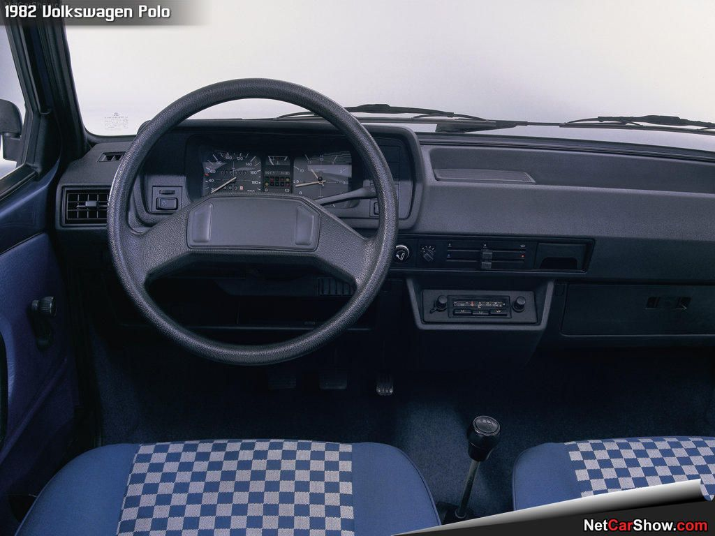 VW Polo MK2 1982 1991 Interior