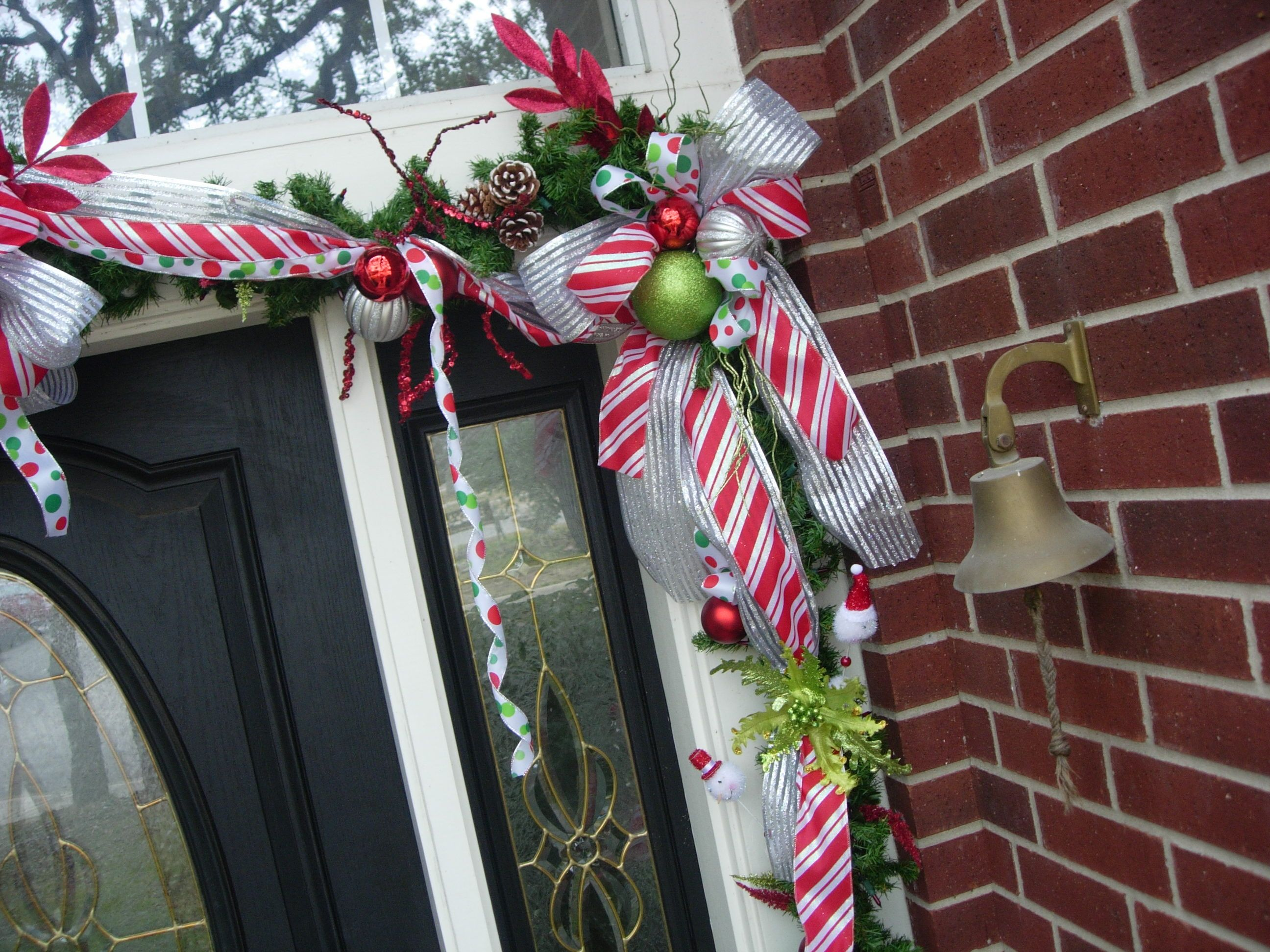 Custom Christmas Entry by HappyHomeDesignWhimsical  - detail
