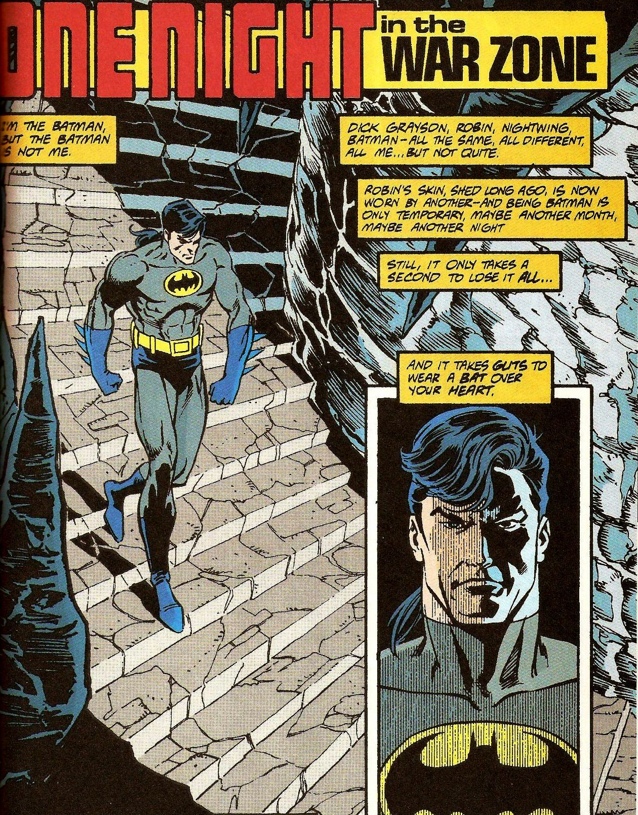 Batman: Prodigal. Dick Grayson