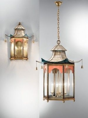 Asian Hanging Lamps Foter Decor Chinoiserie Interior