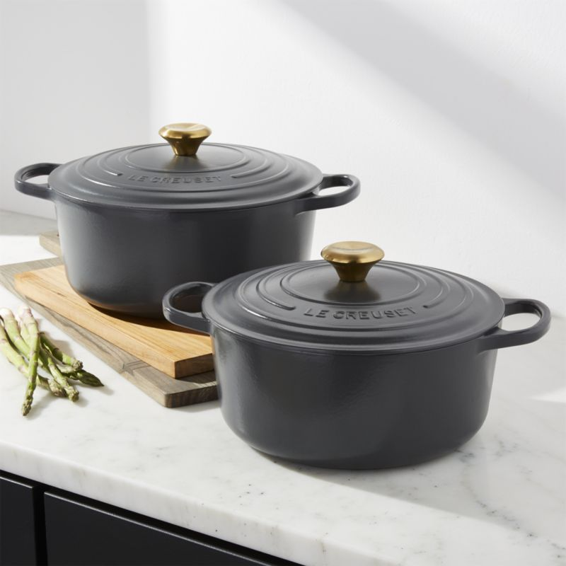 Le Creuset Graphite Dutch Oven In 2018 Home Wishlist Pinterest