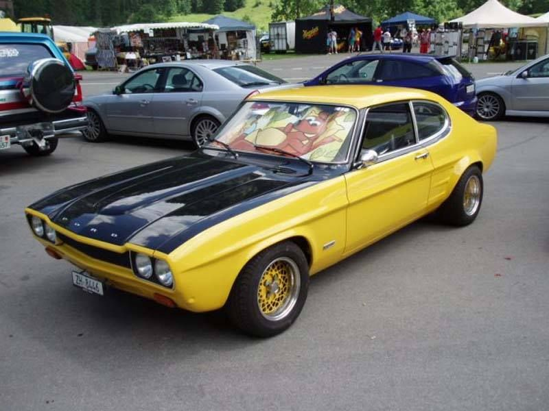 Image May Contain Car And Outdoor With Images Ford Capri