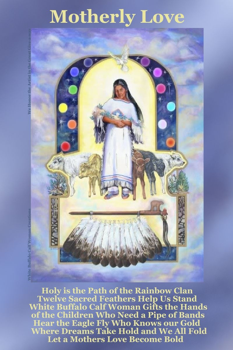 Motherly love whope singing card giveaway holy is the