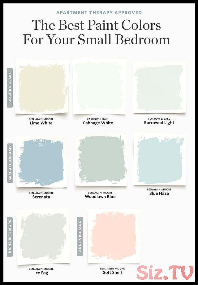 8 Farben die f r ein kleines Schlafzimmer immer ...