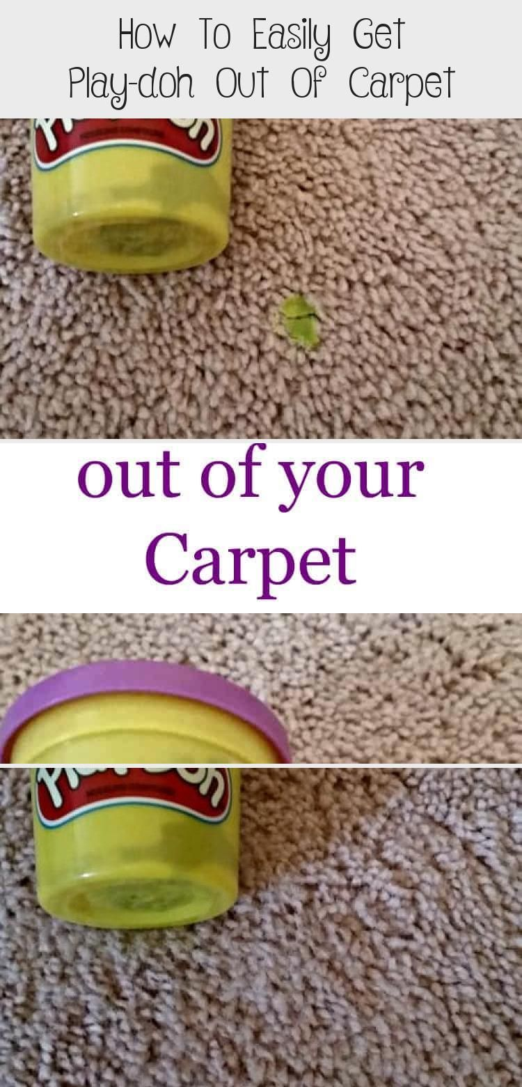 How To Easily Get Play Doh Out Of In 2020 How To Clean Carpet Carpet Cleaning By Hand Getting Played