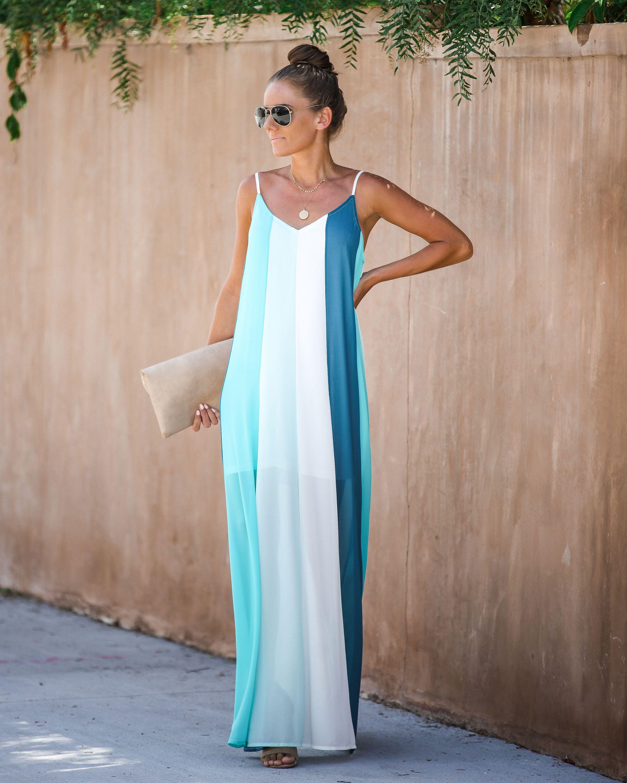 High Tide Colorblock Maxi Dress Vici Color Block Maxi Dress Maxi Dress Formales Outfits [ 3000 x 2400 Pixel ]