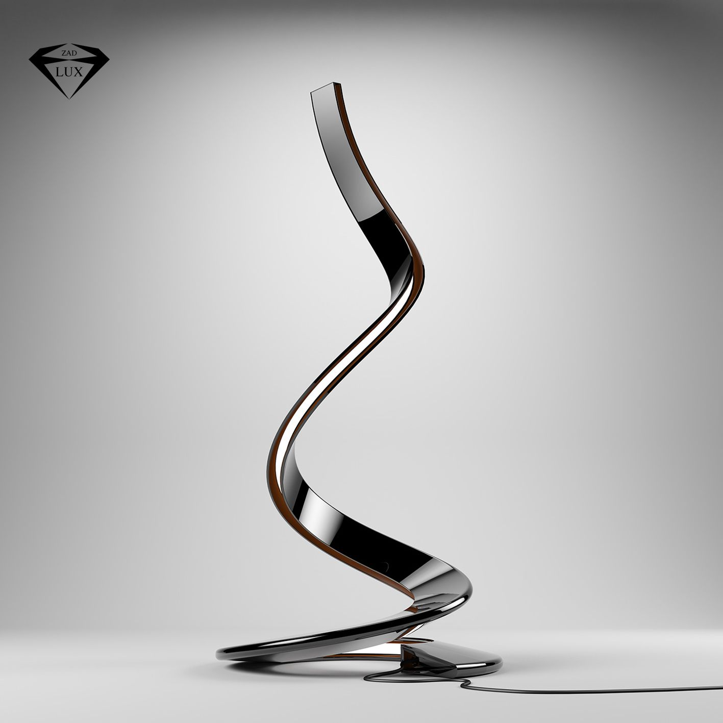 Spirale floor lamp lampade da terra lampade da terra for Lampade design