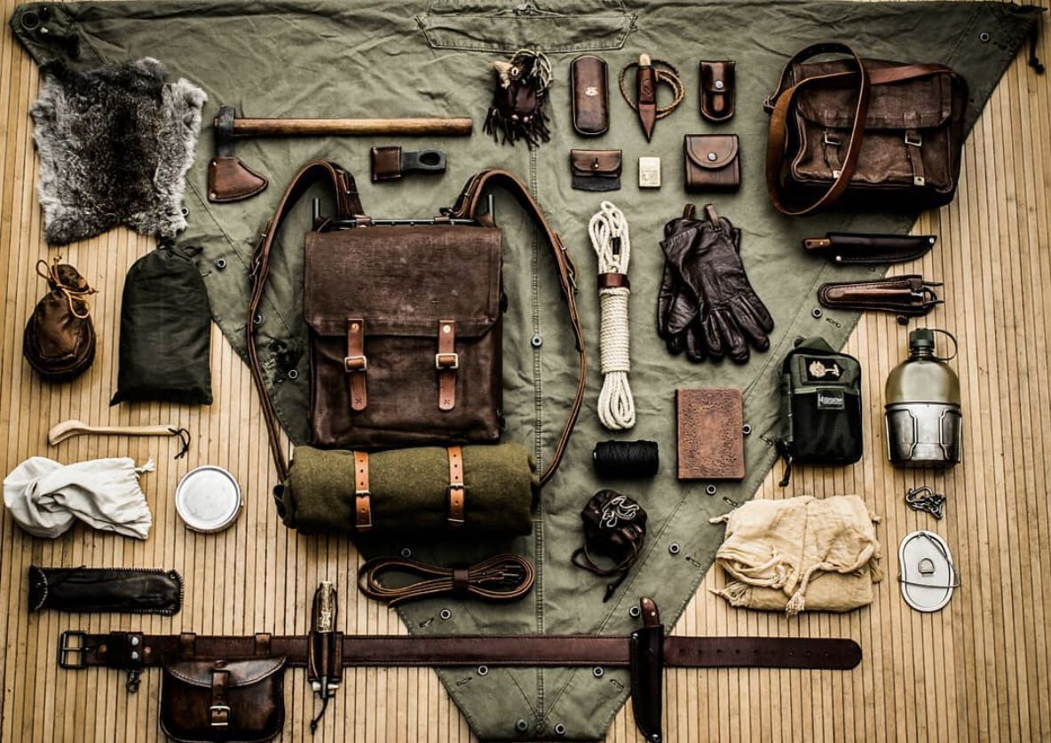 Photo of Bushcraft Survival Kit Packing List ///