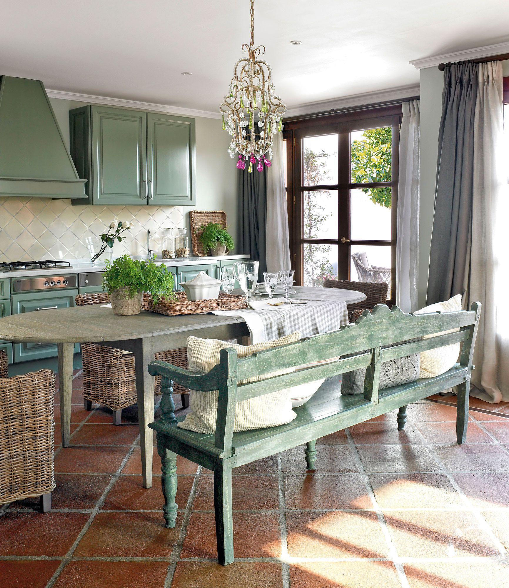 Cocina Rustica Verde Oliva | Diseo De Muebles De Cocina Diseo Y ...