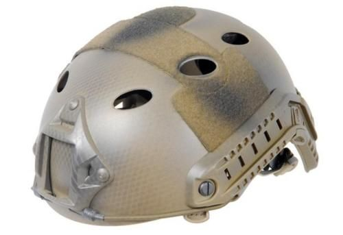 Clothing and Protective Gear 159044: Lancer Tactical Specops Military Style Helmet Rails Velcro Navy Seal Custom Tan -> BUY IT NOW ONLY: $79.99 on eBay!