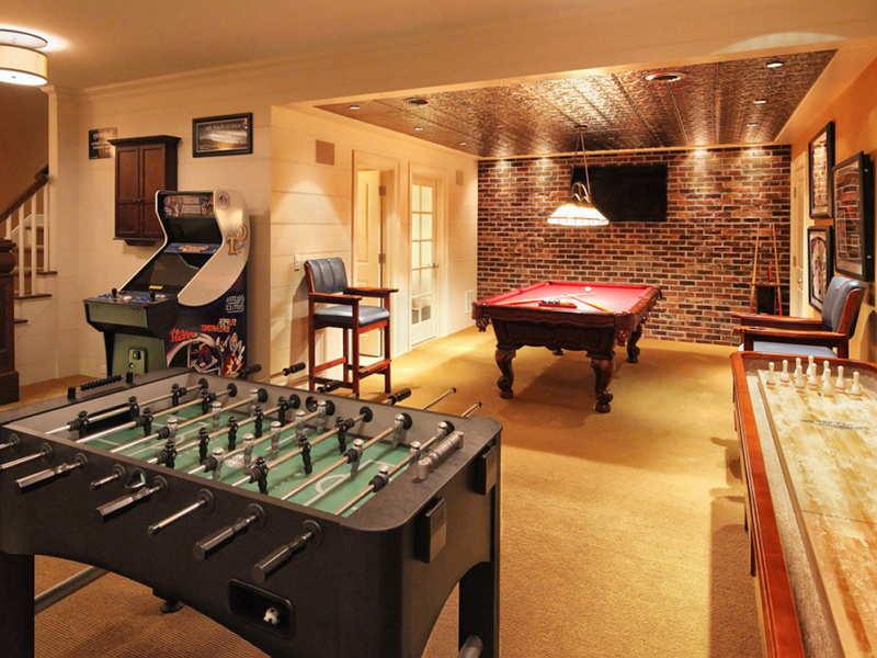 Awesome Game Room Decorating Ideas | Fooz World -  Awesome Game Room Decorating Ideas | Fooz World  - #Awesome #Decorating #Fooz #Game #GameRoomDesign #HouseInteriors #Ideas #InteriorPaintColors #Room #TraditionalDiningRo #TransitionalDecor #World