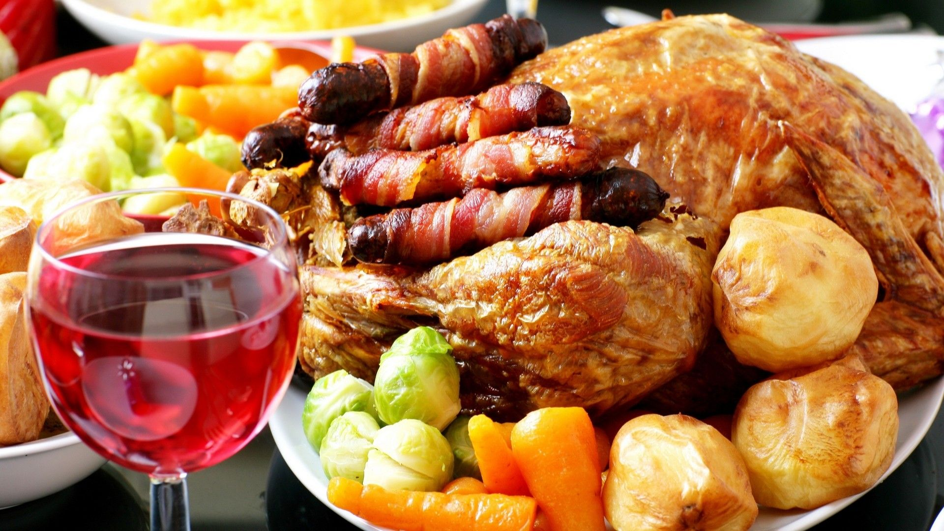 Drinks food wine wallpaper 3032549 wallbase postres australia christmas food bing images some people still like to have a traditional christmas dinner forumfinder Gallery
