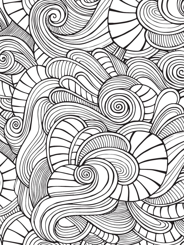 Color Mind Nº2 Desenhos Abstratos Color Mind E Desenhos