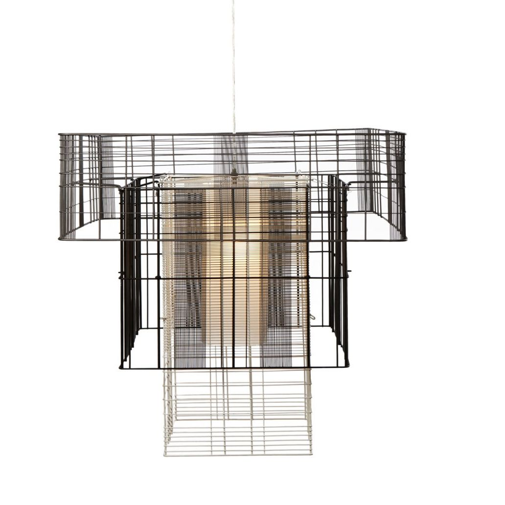 Grosse Suspension Mesh Cubic Suspension Lighting Beleuchtung Luminaires