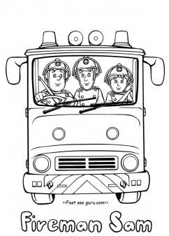 Free Printable Fireman Sam And Penny Morris Coloring Pages For