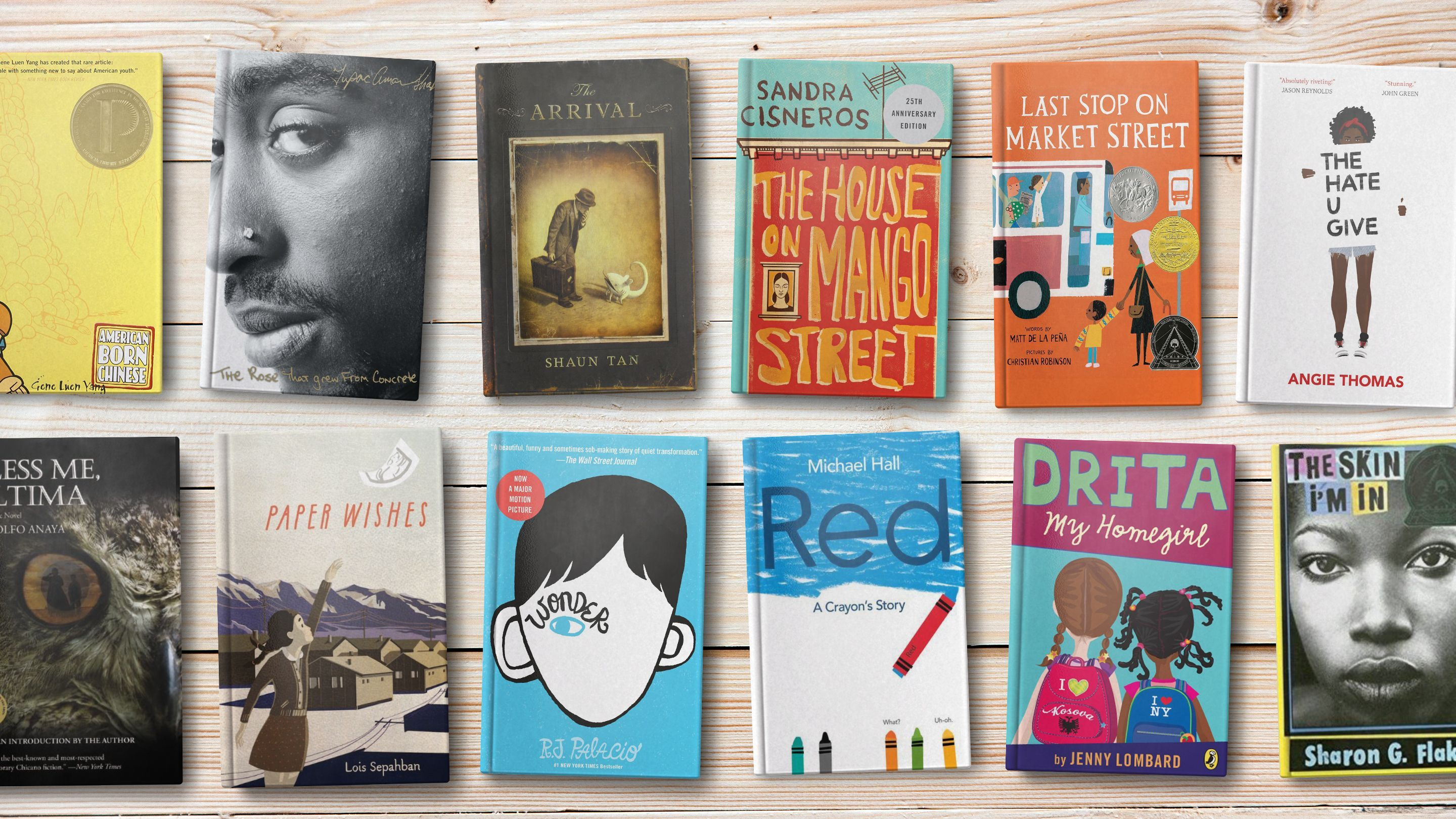 22 Diverse Book Choices For All Grade Levels In