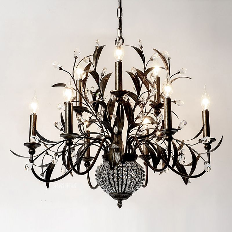 Creative Artistic Wrought Iron Chandelier Beautiful Creative Iron