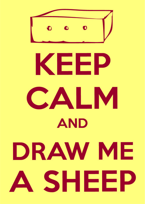 Draw Me A Sheep Tumblr Keep Calm And Pin Pinterest The
