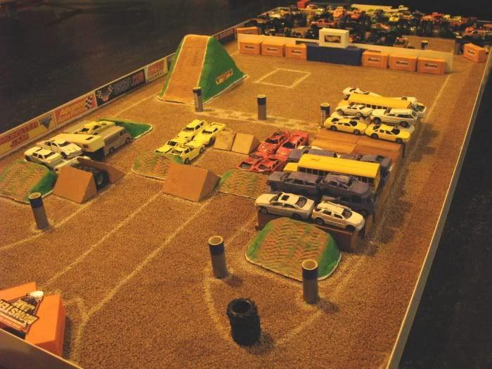 Hot Wheels Monster Jam Stadium Monster Truck Toys Truck