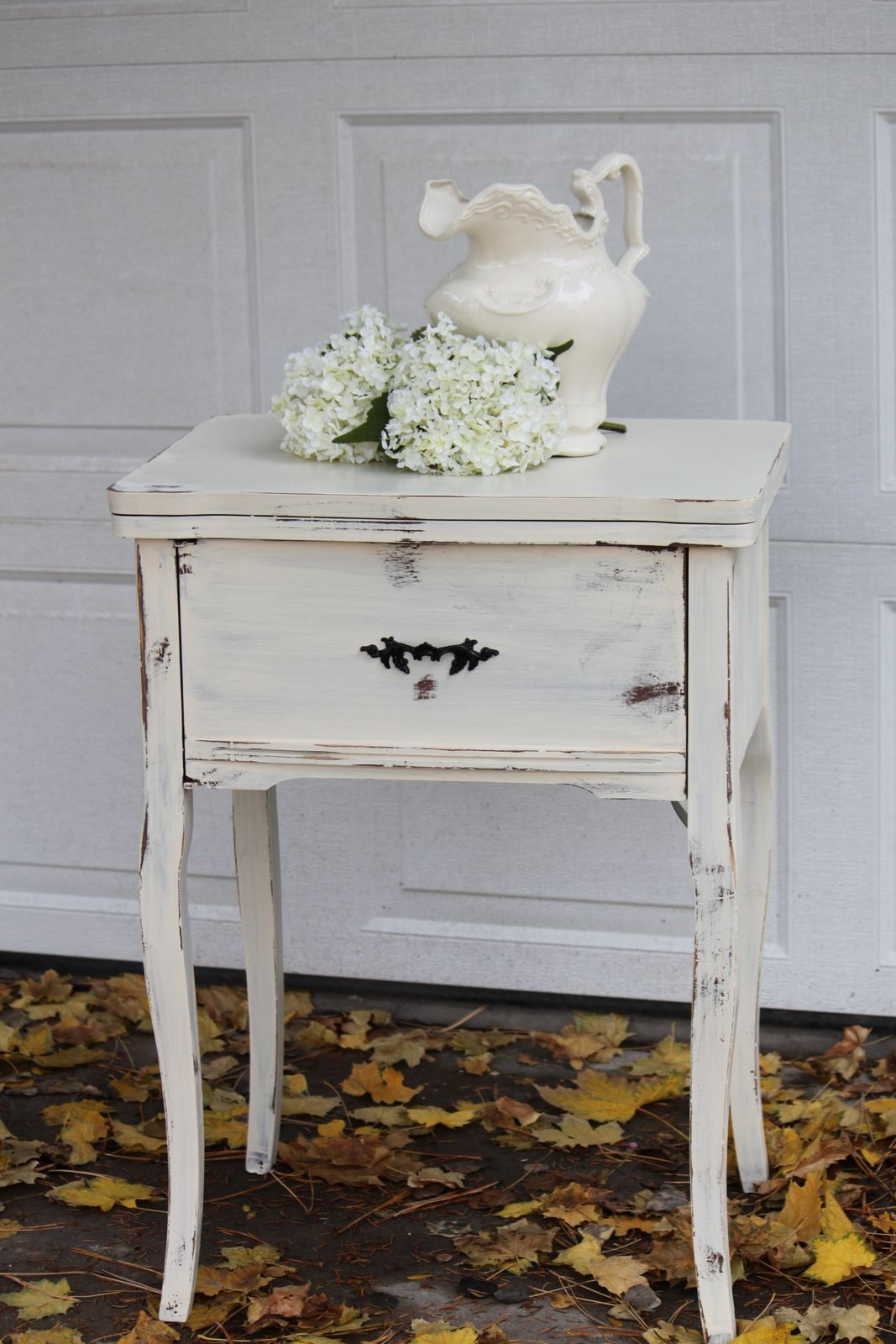 shabby chic end tables Google Search My Tiny Home Pinterest
