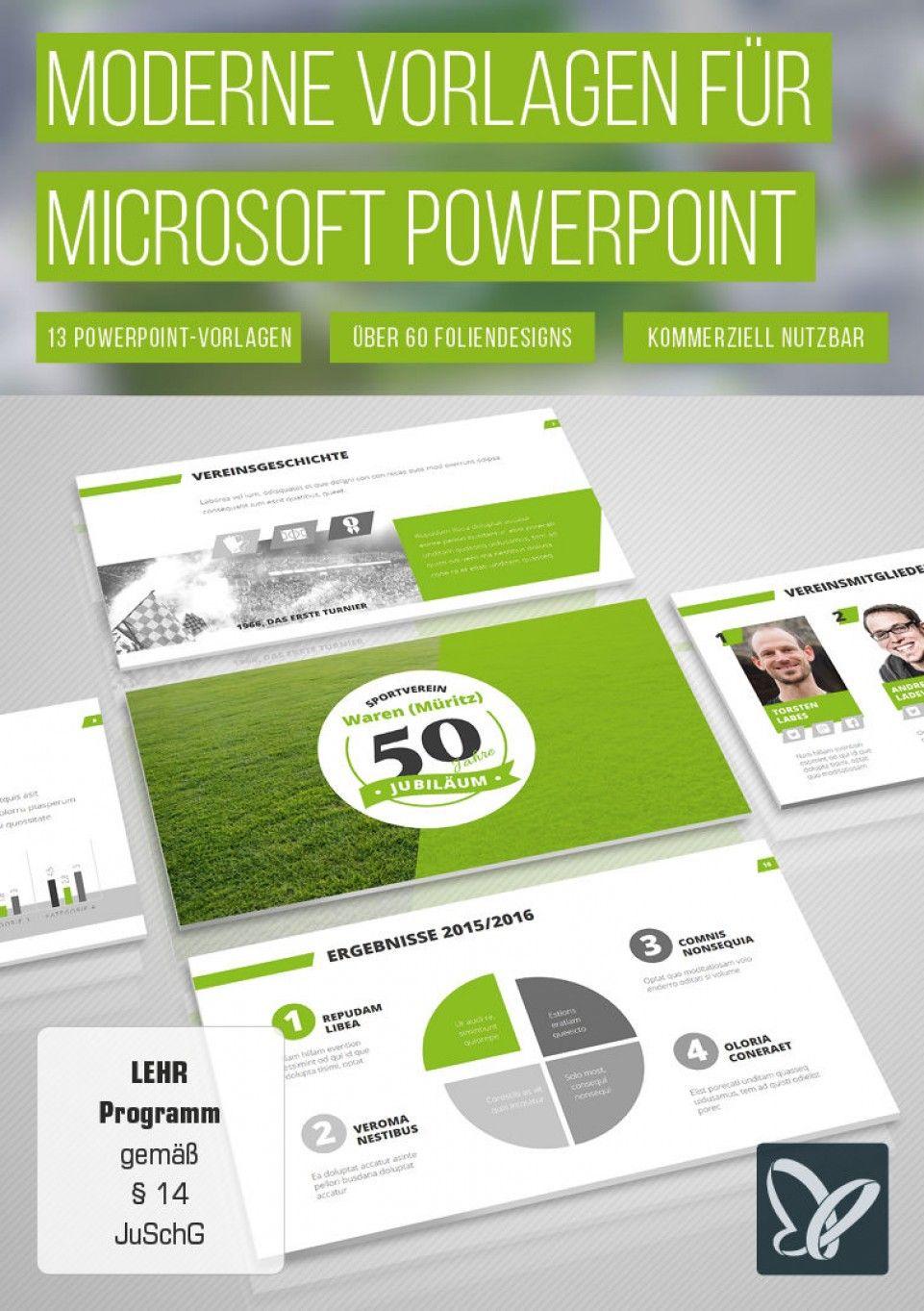 Professionelle Powerpoint Vorlagen Designs Für Eine