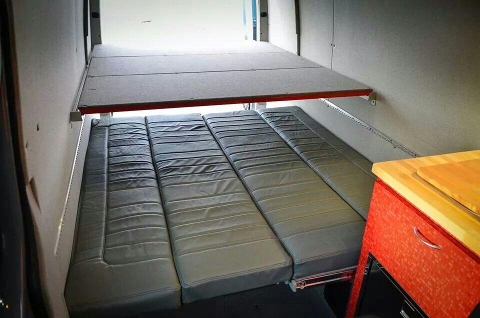 OV sleeping platform