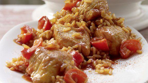 Rezept: Serbisches Reisfleisch