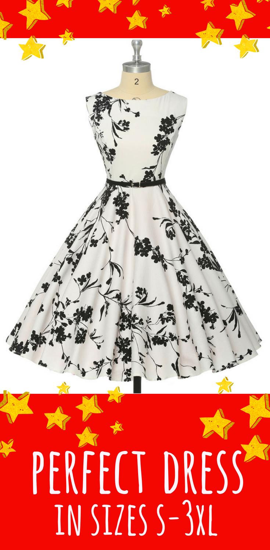 Tea Length Dresses Audrey Hepburn Style Rockabilly Fashion Rockabilly Fifties Fashion Fiftie Vintage Tea Length Dress Party Outfits For Women Vintage Tea Dress [ 1500 x 735 Pixel ]