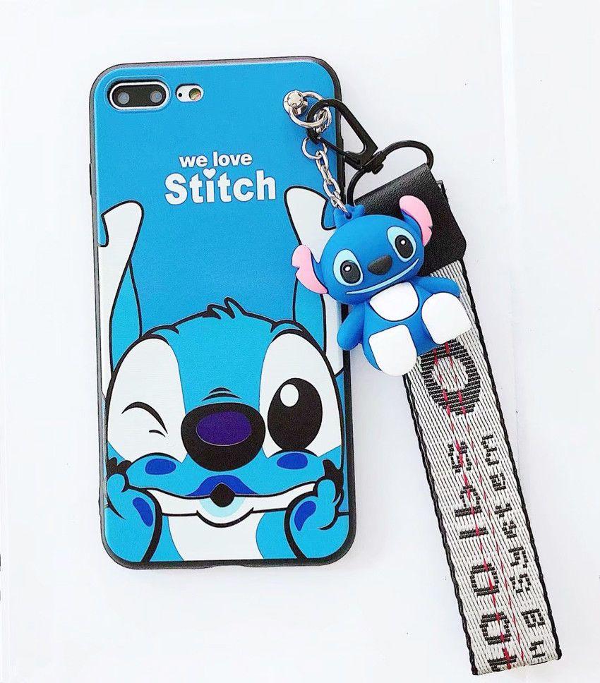 Stitch Pendant Soft Phone Case Cover