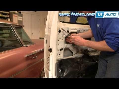 How To Install Replace Broken Outside Door Handle 1980 96 Ford F150 F250 F350 Auto Repair Truck Repair Repair