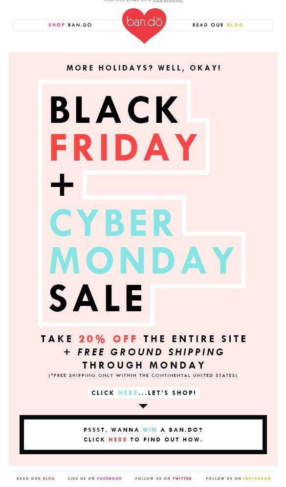 Pin By Harriet Dallow On Sale Research Black Friday Email Design Cyber Monday Sales Black Friday Newsletter