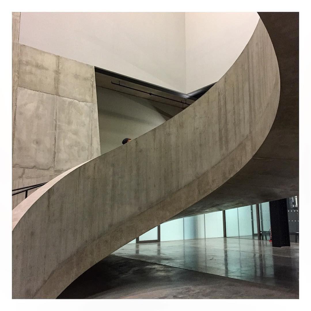 Spiral staircase #spiral #stairs #tate #modern #concrete #london