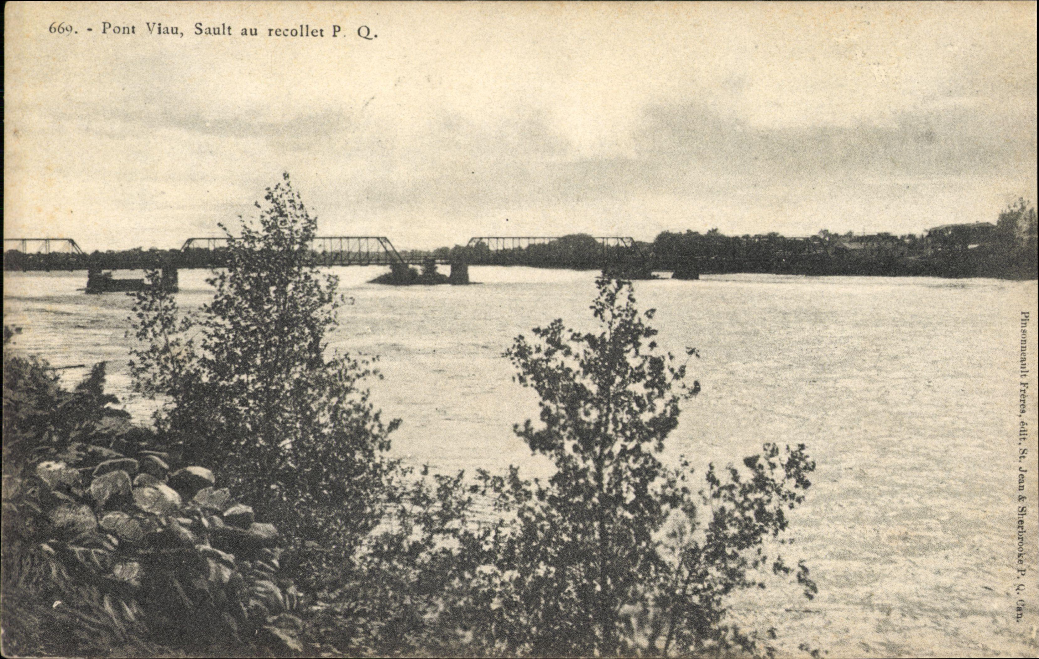 Pont Viau, Sault au récollet P.Q., 669 [image fixe]  