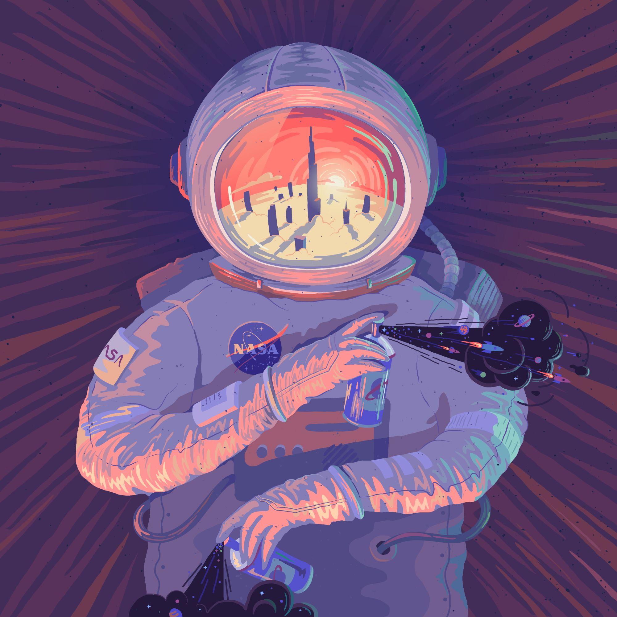 пожалуйста, забывайте космонавт курит картинки кашин
