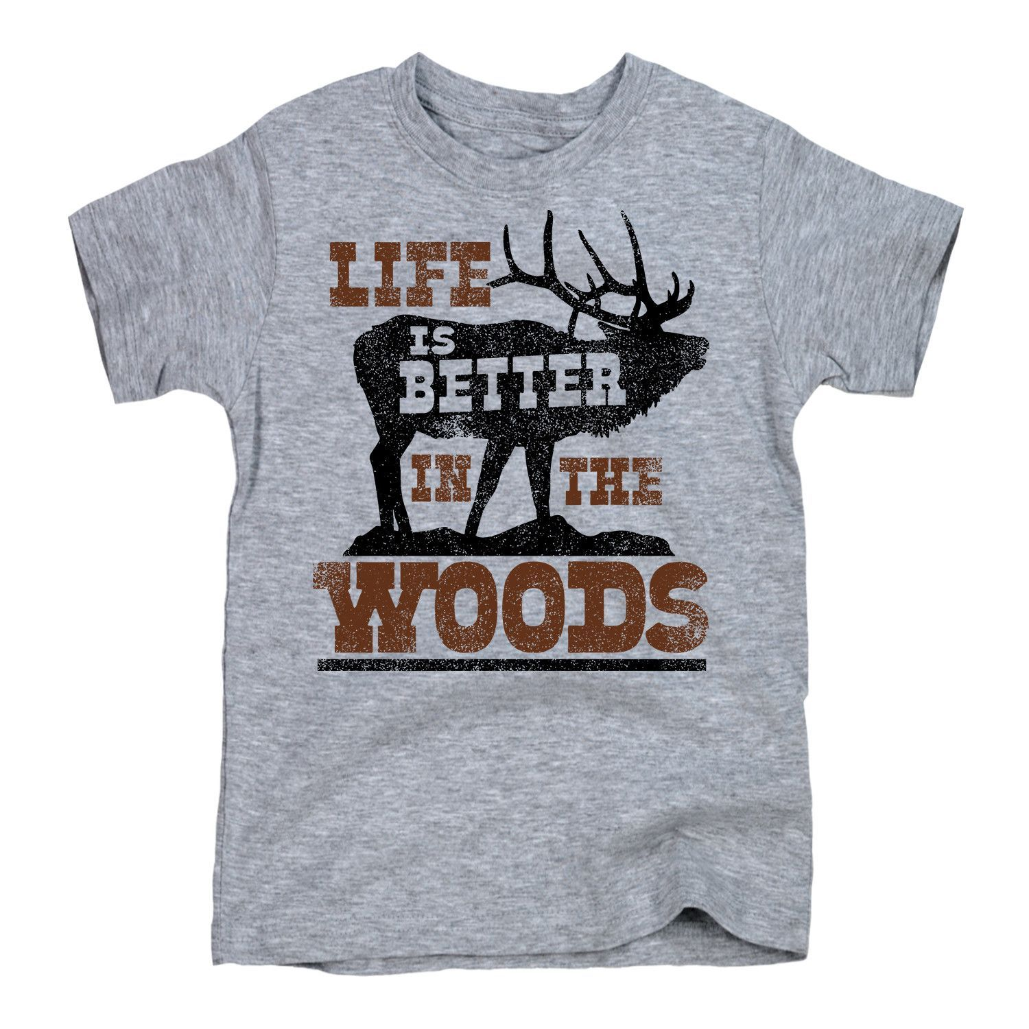Life Is Better in the Woods Toddler Tee