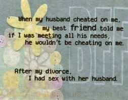 husband cheated with my friend