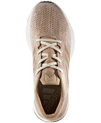 369a1a67c2a7b adidas Men s PureBOOST Dpr Running Sneakers from Finish Line - Tan Beige  10.5