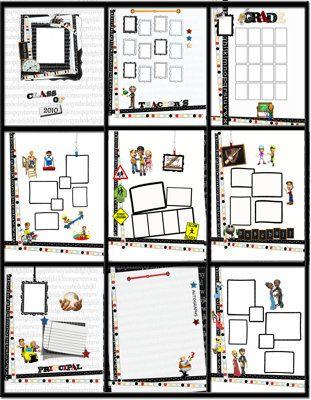 Designer Photo Book Templates Total Yearbooks